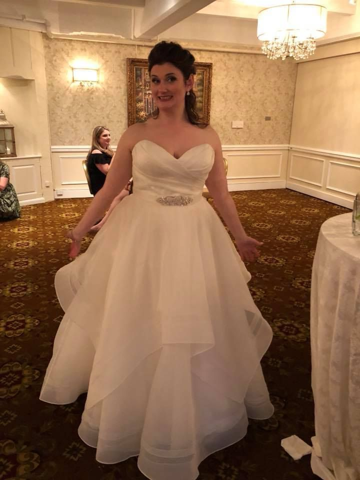 Essence Of Australia 2094 Plus Size Bridal Gowns Wedding