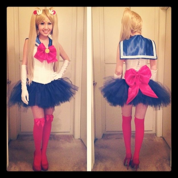 Sailor Moon | Fantastic Halloween Costume Ideas For u002790s Girls  sc 1 st  Pinterest & Sailor Moon | Fantastic Halloween Costume Ideas For u002790s Girls ...