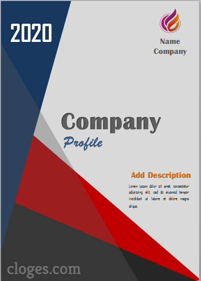 Free business profile template download