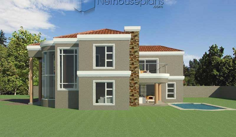 3 Bedroom Double Storey House Plan [South Africa ...
