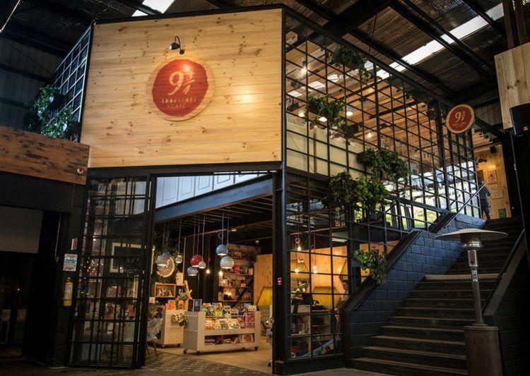 eingang des cafés | sammlung | pinterest | innendesign, die natur ... - Cafe Mit Buchladen Innendesign Bilder