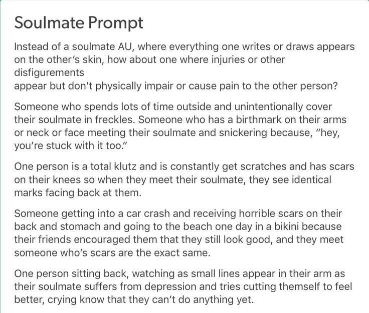 Pin by Max Bishop on Soulmate AUs | Writing prompts, Writing