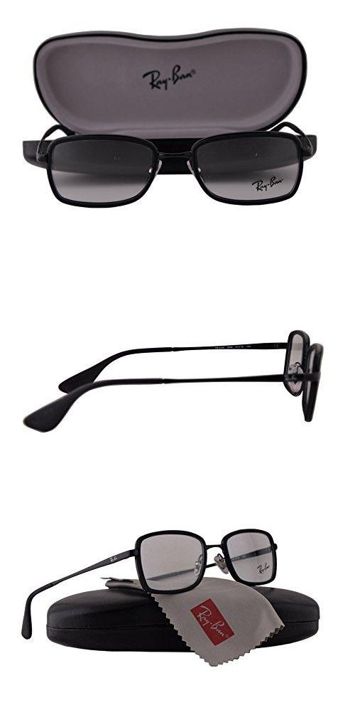 Ray Ban RX6336 Eyeglasses 51-18-140 Rubber Black 2509 RX 6336 ...