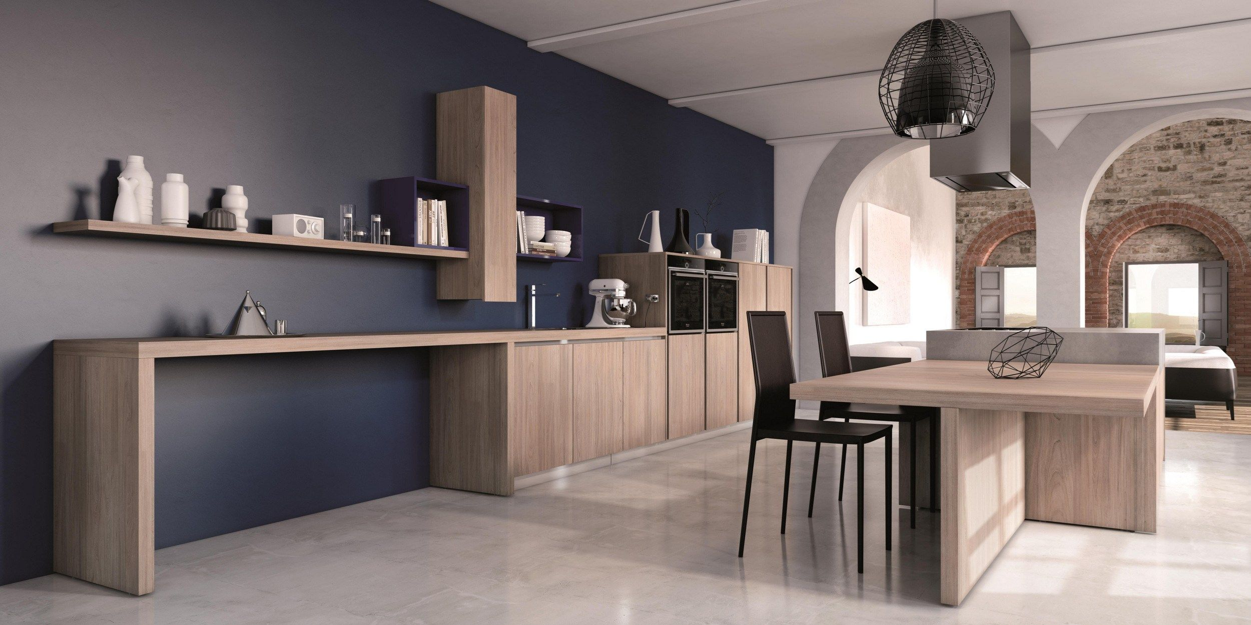 厨房 CRETA by Del Tongo | kitchens & dining rooms | Pinterest | Cucine