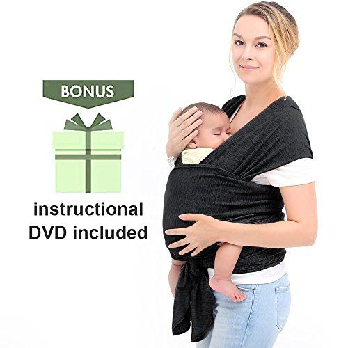 122c74d4700 InnooBaby Baby Wrap Carrier Natural Cotton Nursing Baby Sling Suitable for  Newborns to 35 lbs Lifetime Guarantee Breastfeeding Sling Soft Safe and ...