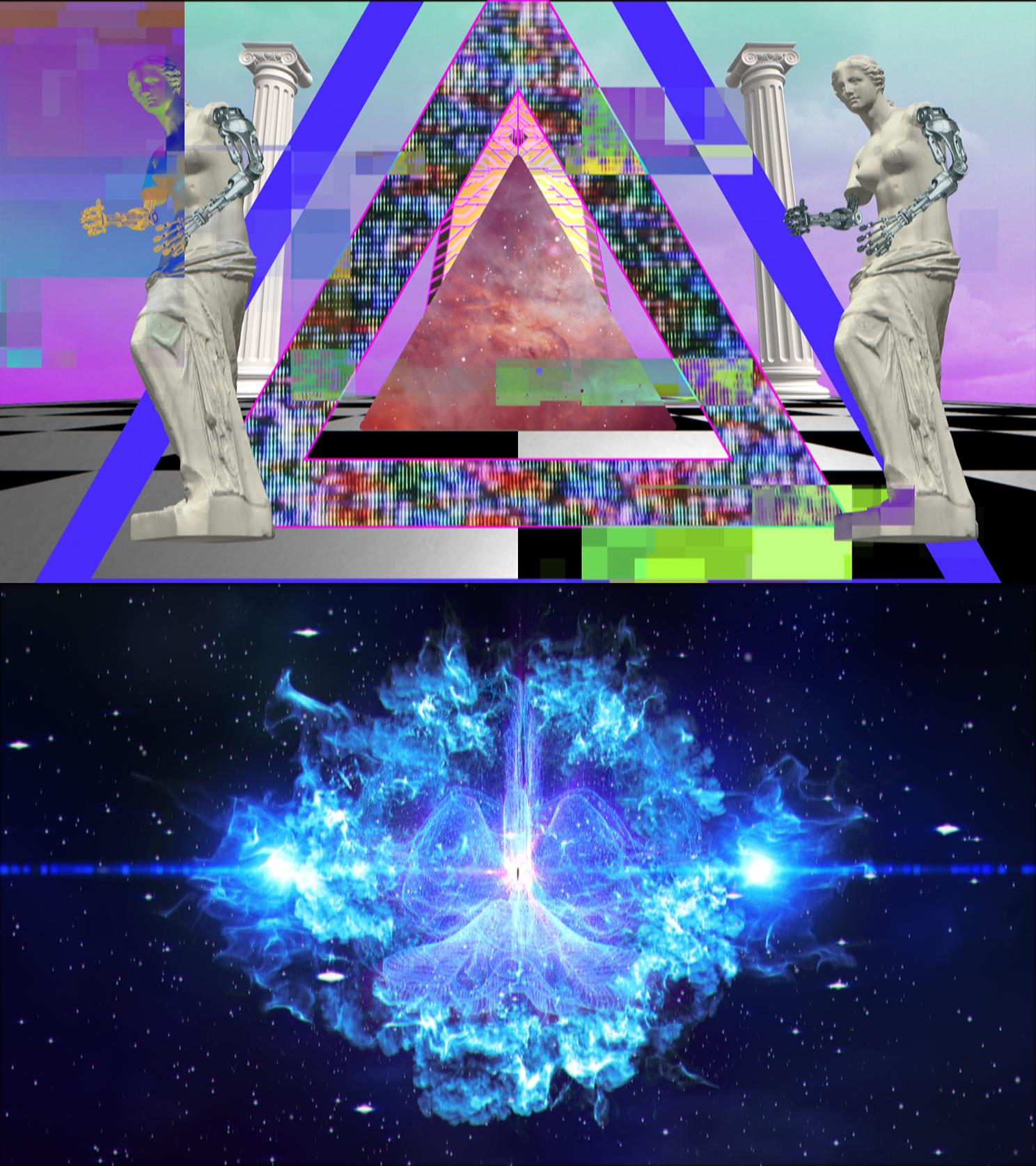 """Mr.都市伝説関暁夫の都市伝説6 ARムービー """"Zoltaxian"""" Music video, Glitch"""