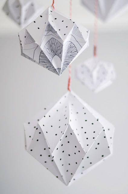 Origami Diamanten #origamianleitungen