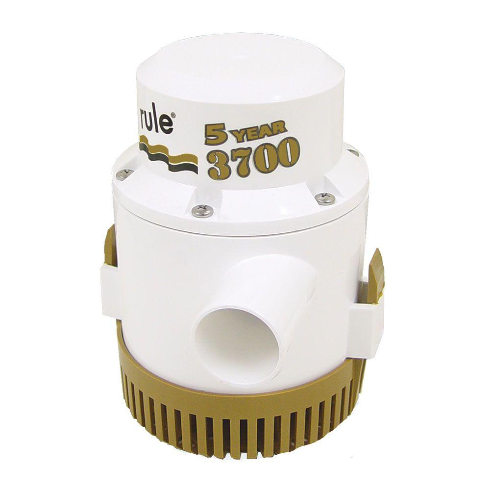 Rule 3700 gph gold series bilge pump pumps rule 3700 gph gold series bilge pump boat parts for less publicscrutiny Choice Image