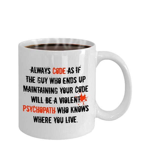 This is what an awesome programmer looks like coffee cup mug