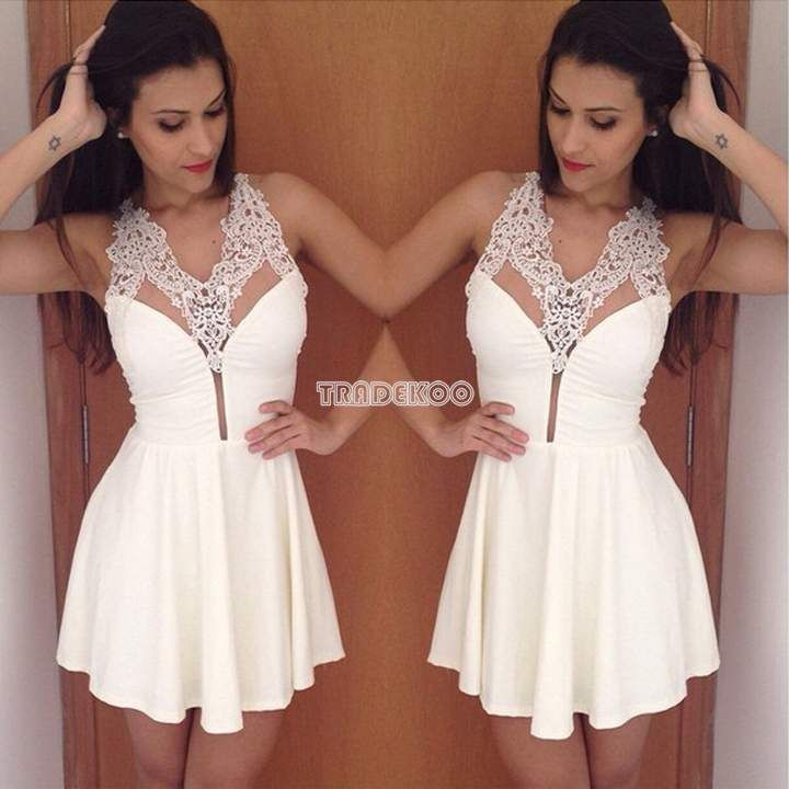Robe blanche kamila secret story