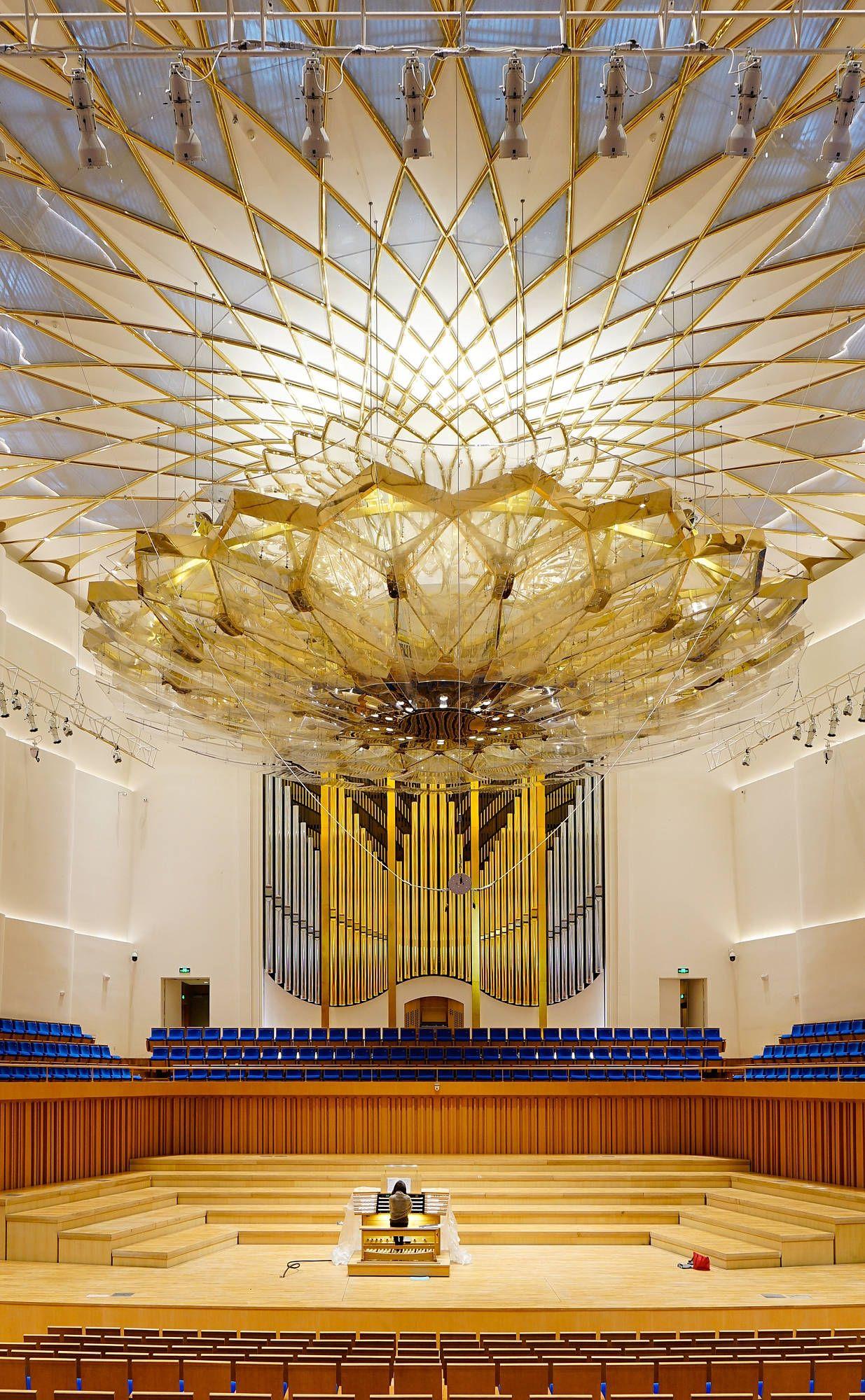 Chengdu Cn Urban Concert Hall Orgelbau Klais Bonn Orgel Architektur Posaune