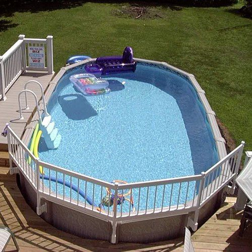 Above Ground Pool Fence Kit 24 Tall With Images Above
