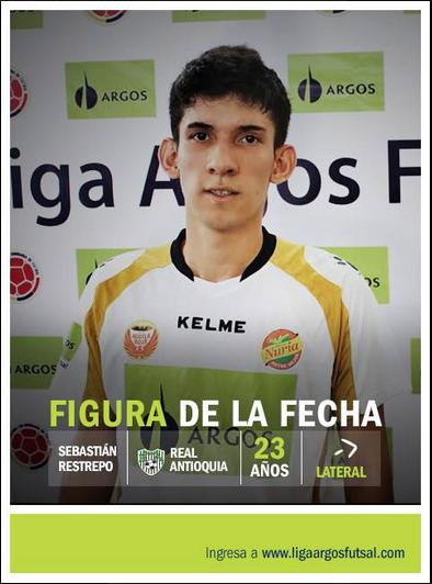 #RealAntiquia debutó y demostró que es un equipo con talento. La figura de la tercera fecha es oriundo de Medellín. #FútbolRevolucionado