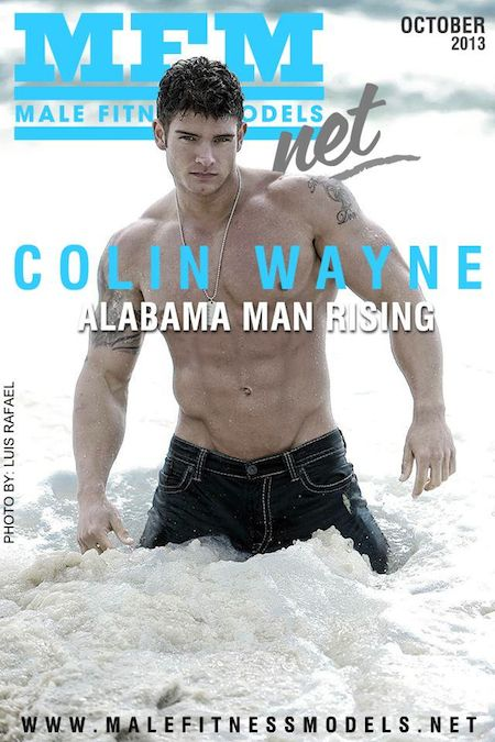 Fitness Cover Model Colin Wayne Talks With No Time Wheysted
