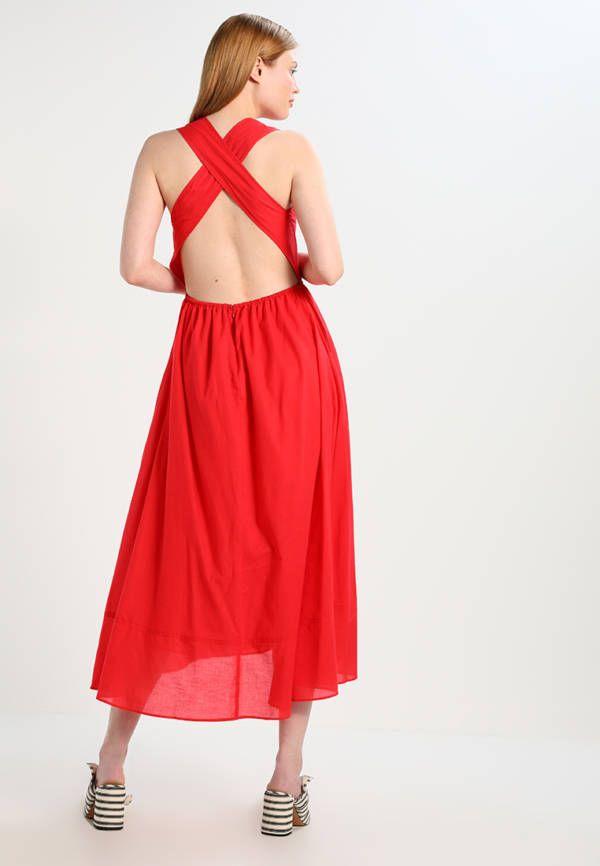 Rückenfreies Maxi-Kleid