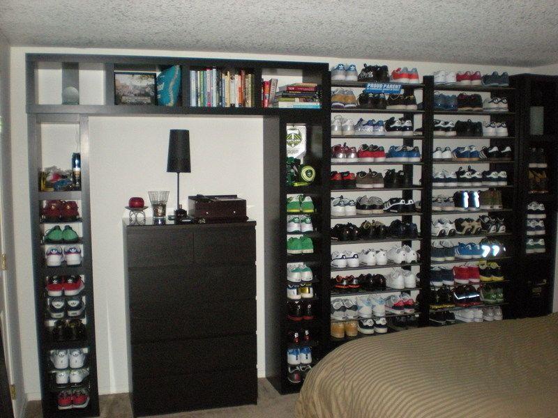 schuh halter f r mauern schrank schrank. Black Bedroom Furniture Sets. Home Design Ideas
