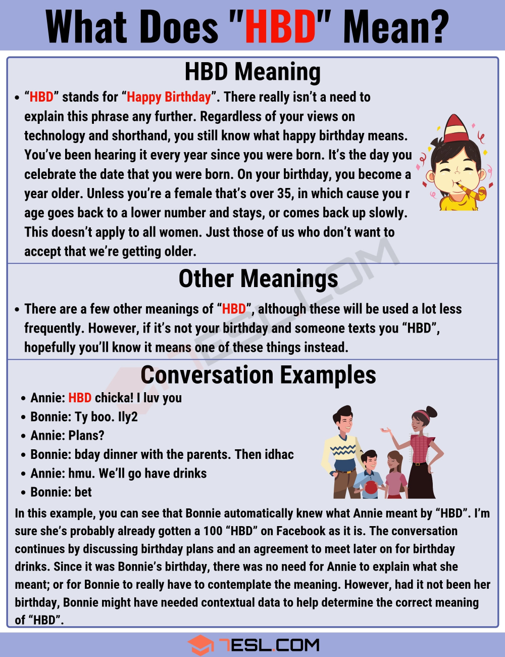 Hbd Meaning What Does The Popular Acronym Hbd Mean Learn