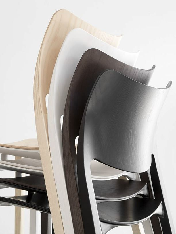 Stackable Restaurant Chairs Office Chair Outlet Ash Laclasica Stuadesign Furniture In 2018 Stools Plywood