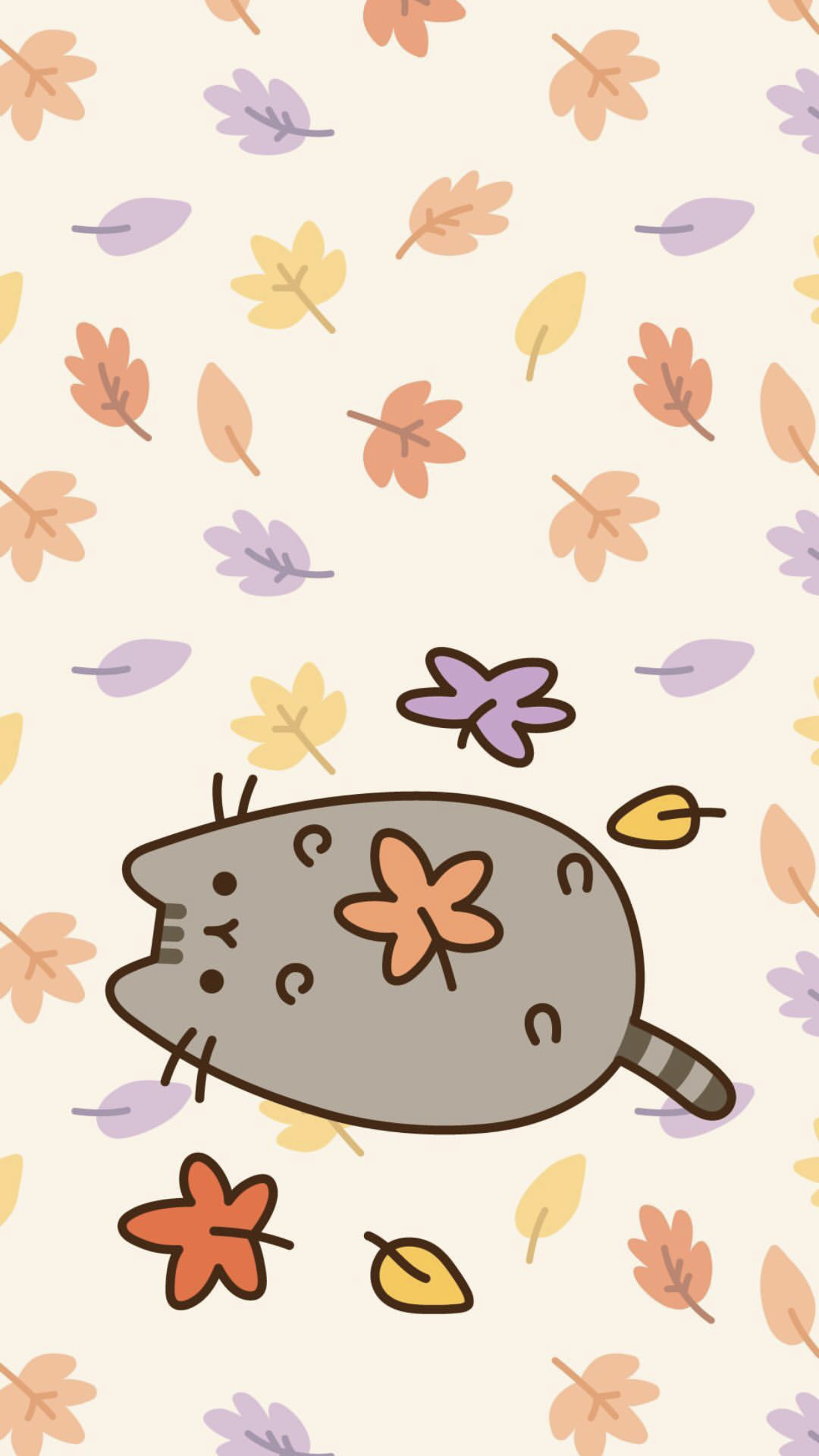 Pusheen The Cat Iphone Wallpaper Pusheen Cute Cat Wallpaper Fall Wallpaper