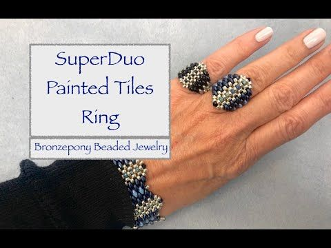 Photo of Painted Tiles Ring