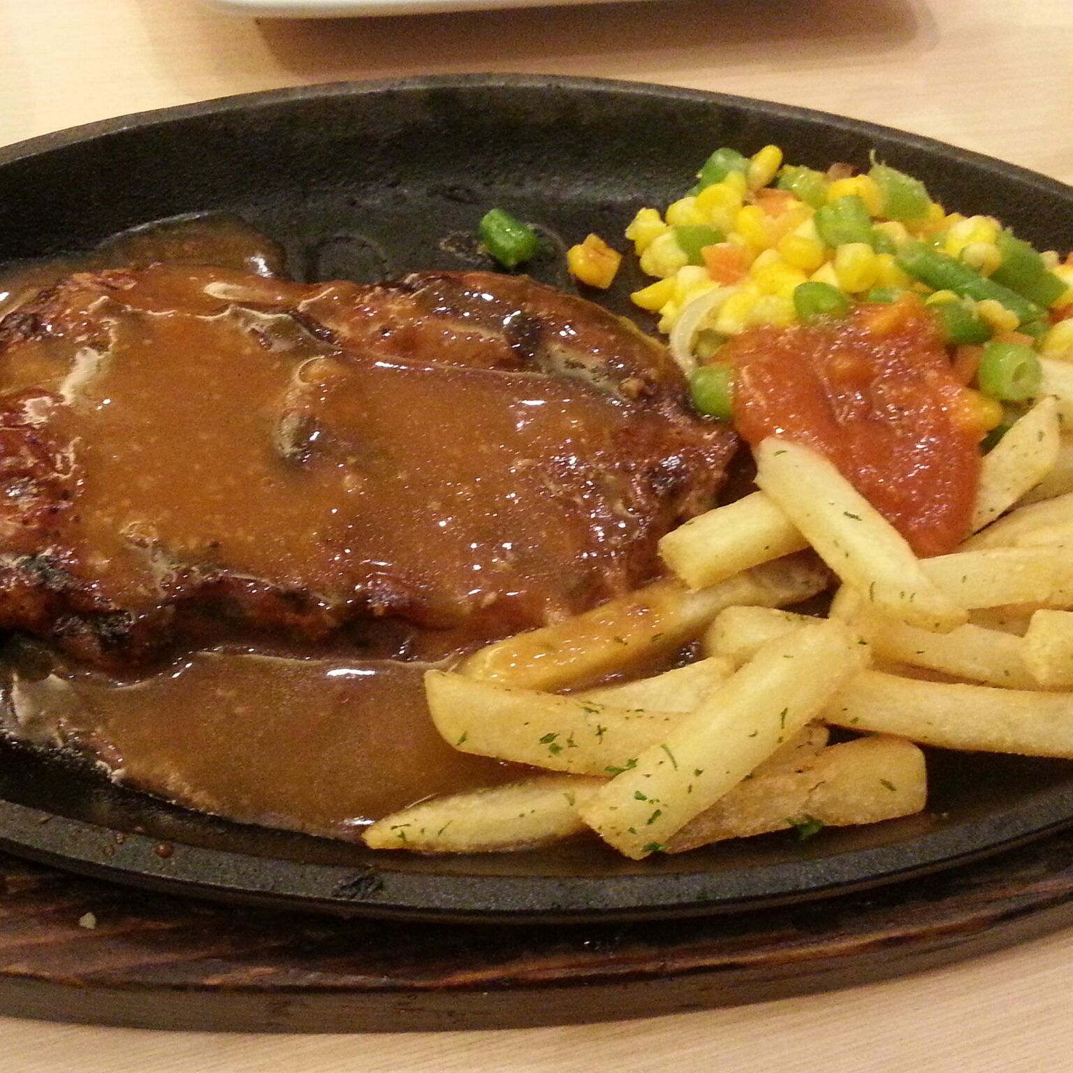 Steak 21 Steak, Medan, Meat