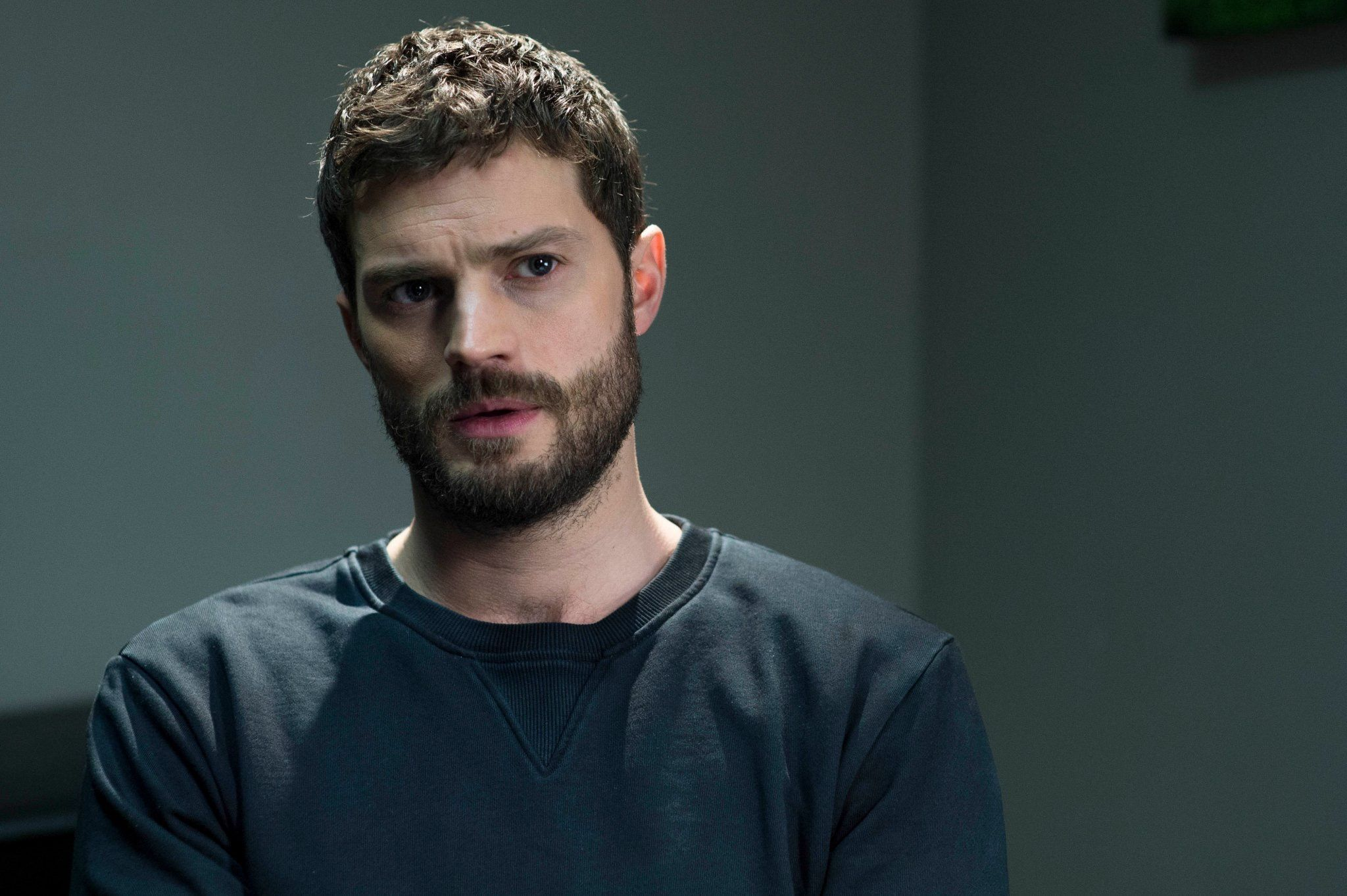"""Something changes in me when I play Paul Spector in The Fall"" #JamieDornan"