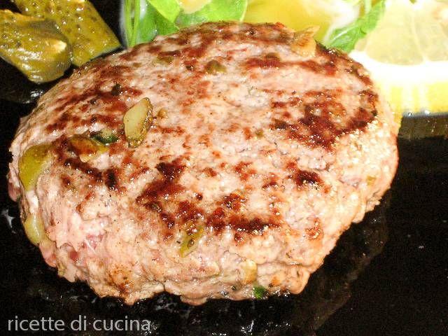 Come cucinare delle polpette di carne alla piastra la ricetta degli
