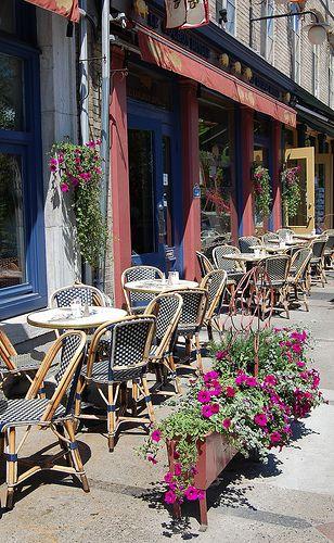 Outdoor Cafe Quebec City Outdoor Cafe Quebec City Sidewalk Cafe