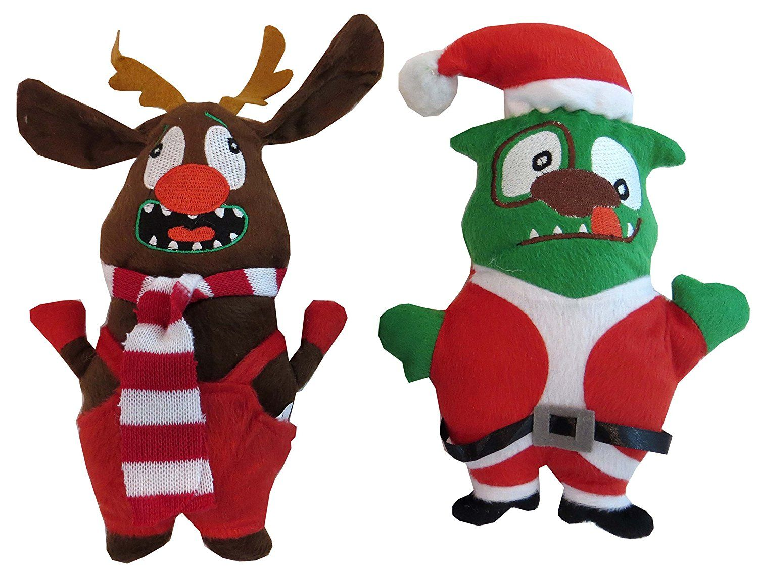 Dei Christmas Plush Ugly Dog Toy Set 11 H Review More