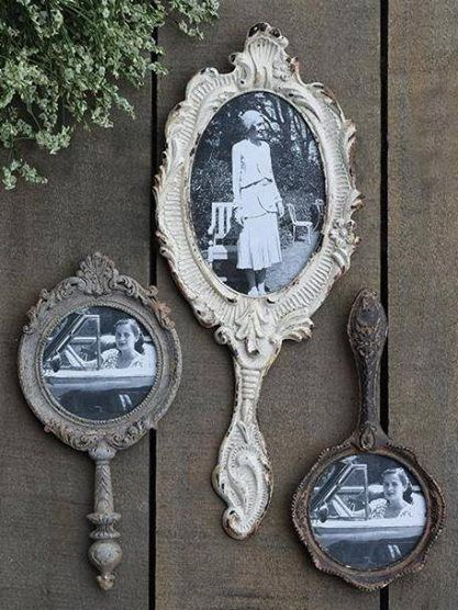 Hand Held Mirror Frames Hand Held Mirrors Pinterest