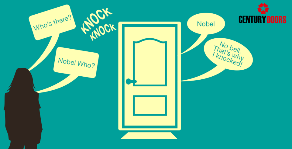 Next Time You Hear A Knock Knock Joke Remember Where It All Started And Know That A Door Can Be More Than Just An Entrance Knock Knock Jokes Knock Knock Jokes