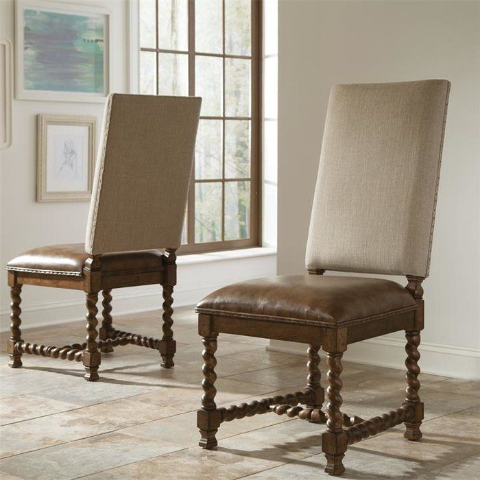 genuine leather dining chairs melbourne steel chair godrej upholstered pear orchard