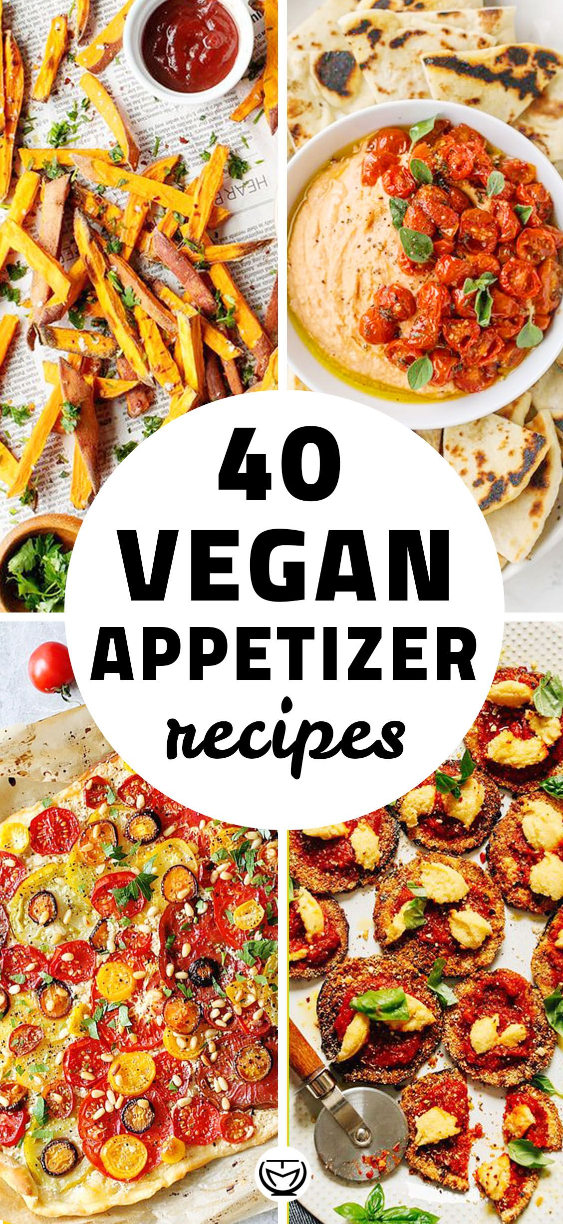40 Delicious And Easy Vegan Appetizers Vegan Appetizer