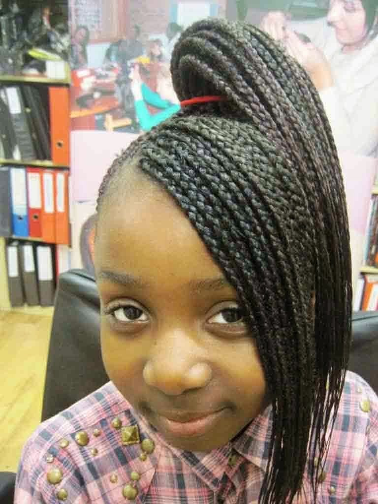 Fantastic 1000 Images About Braided Hairstyles For Black Girls On Pinterest Short Hairstyles Gunalazisus