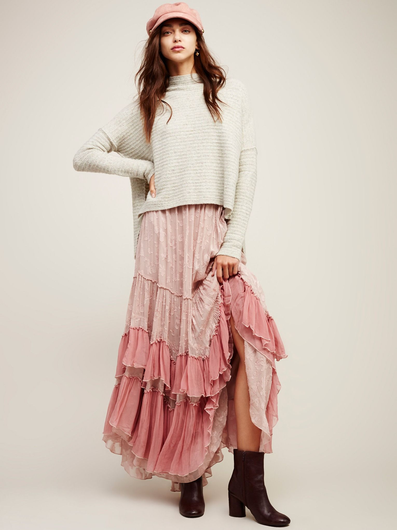 ecae214a9f81 See You Tonight Maxi Skirt | New Arrivals | Fashion, Skirts, Boho skirts