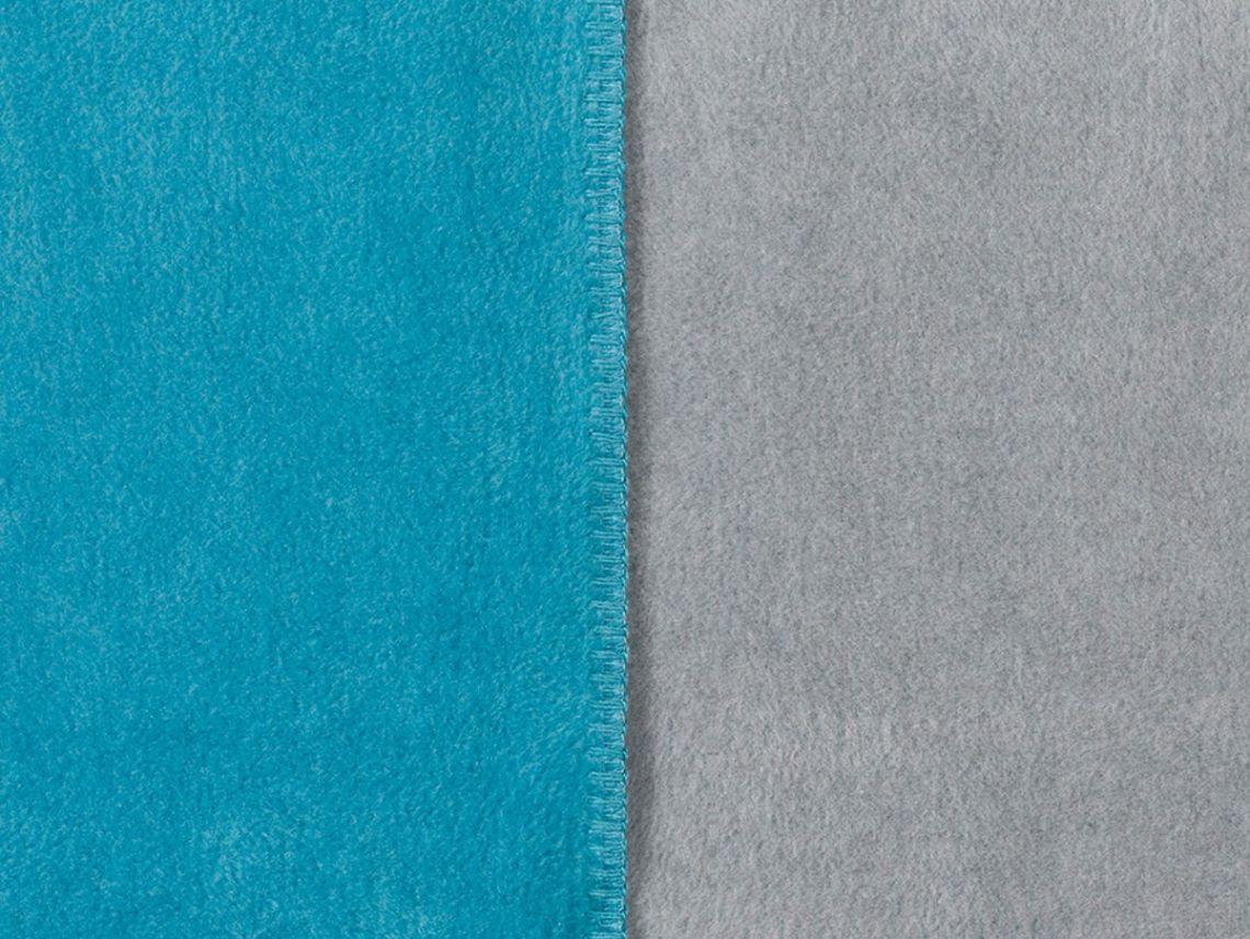 SOEL Tagesdecke Doubleface 150x200 Cm Blau Grau