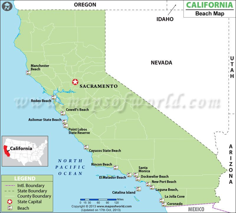 Best Beaches in California | My happy places | California ...