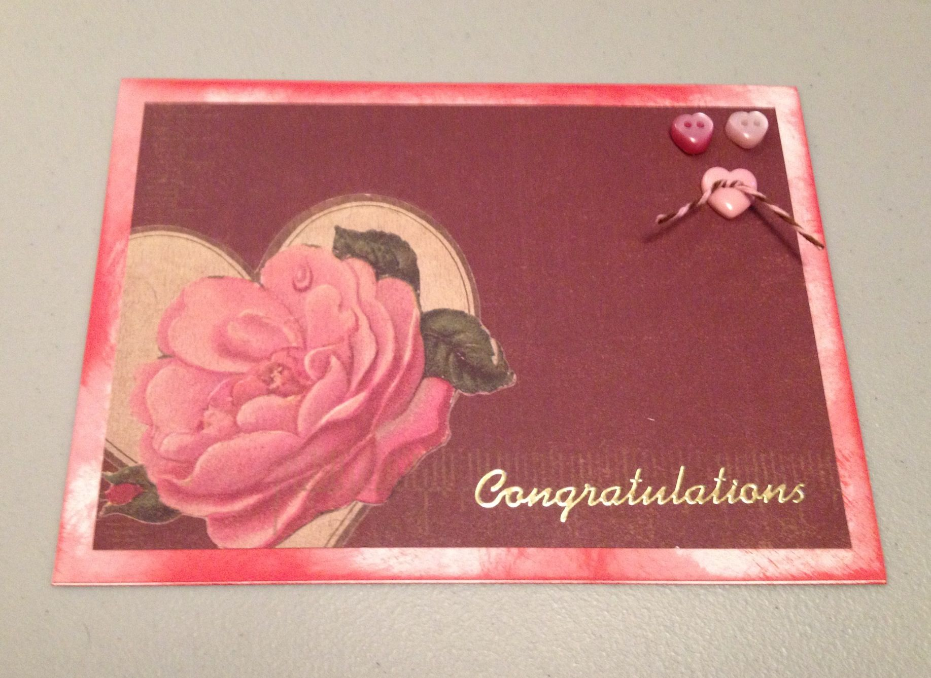 A congratulations on your retirement card for my friend Linda.