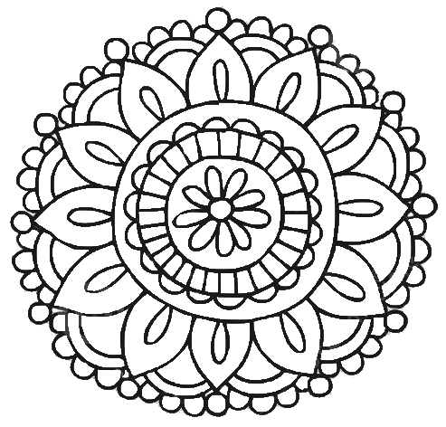 Henna Circle Png Makedes Com