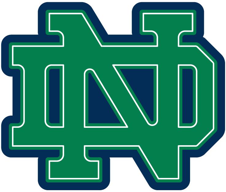 Notre Dame Fighting Irish Alternate Logo Fighting Irish Logo Notre Dame Fighting Irish Norte Dame Fighting Irish