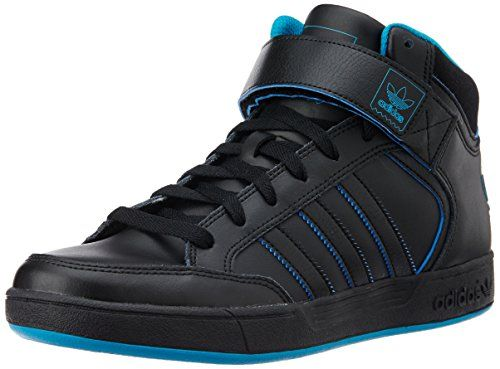 adidas Herren Sneaker Varial MID Core Black/Bold Aqua/Core Black 40 2/