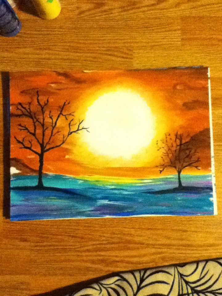 Pin By Amanda Jager On Crafts Painting Art Painting Sun Painting