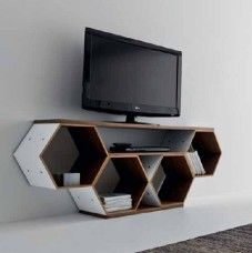 Mobile Porta TV di design in letto Flai Honeycomb | ♥ Home ...