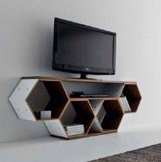 Porta Tv Flai.Mobile Porta Tv Di Design In Letto Flai Honeycomb House