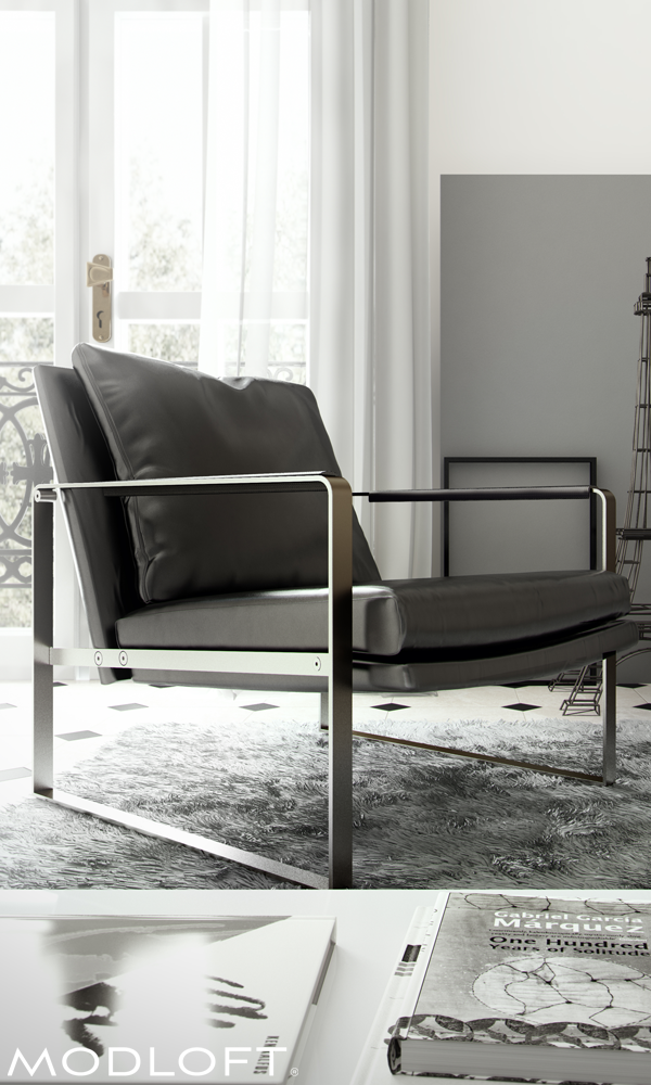 The Rich Materials And Modern Lines Of The Modloft Charles