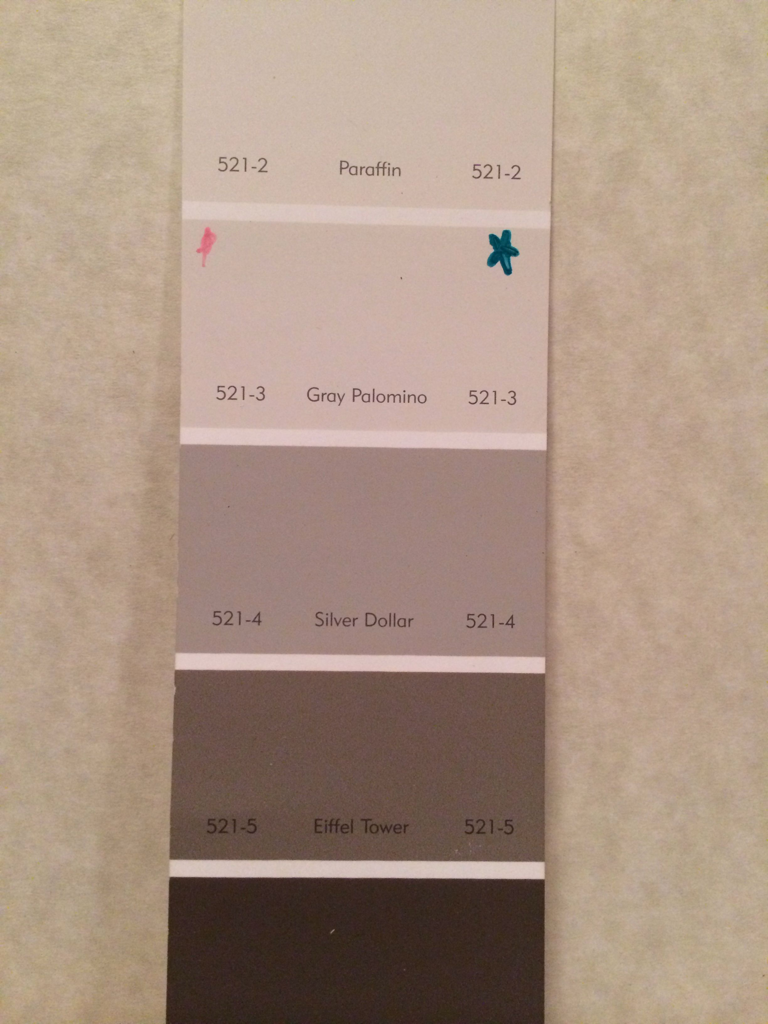 Downstairs and hallway paint color: PPG Gray Palomino 521-3