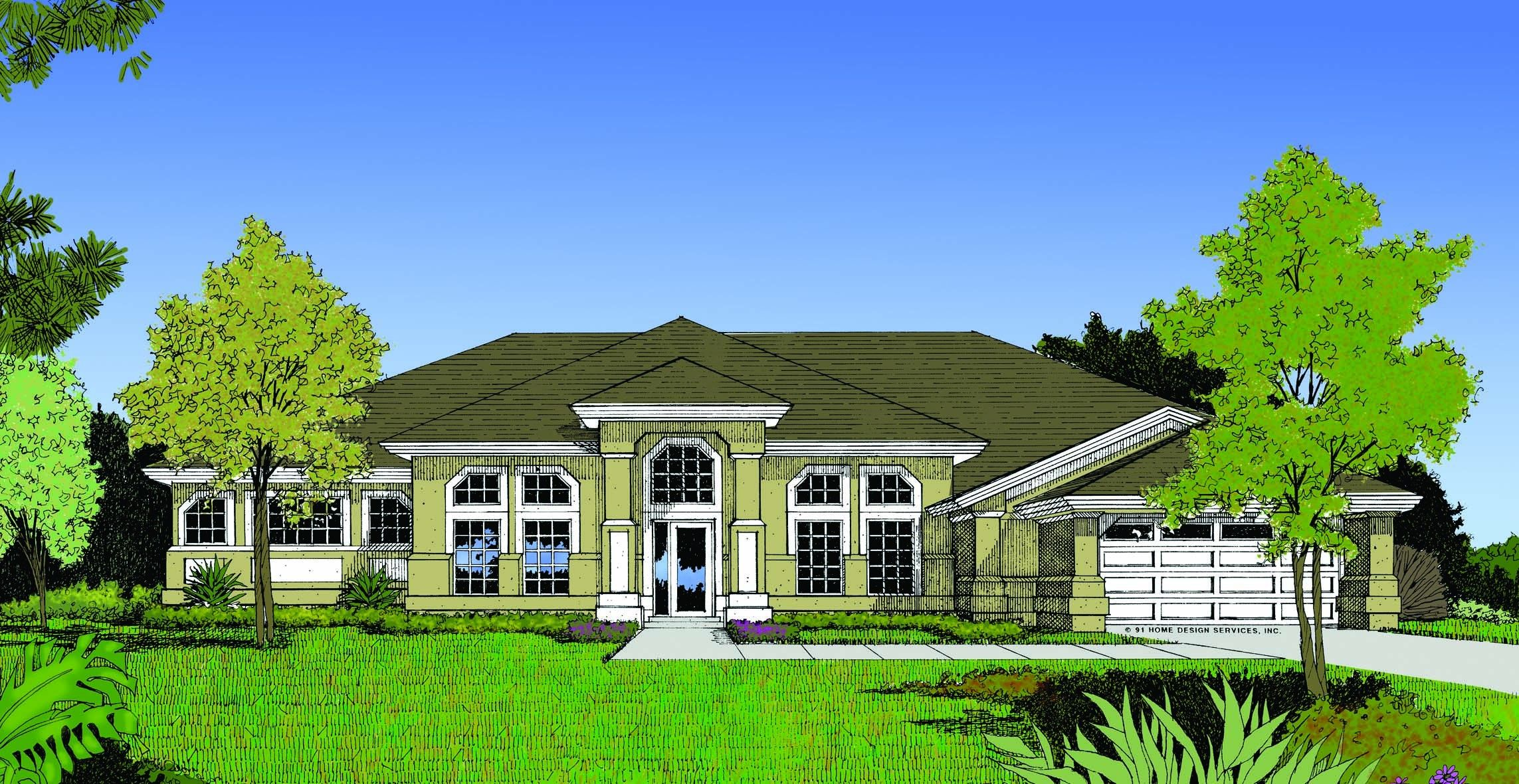 Eplans Italianate House Plan Future Perfect 2691 Square Feet And 4 Bedrooms From Mediterranean Style House Plans Mediterranean House Plan Beach House Plans