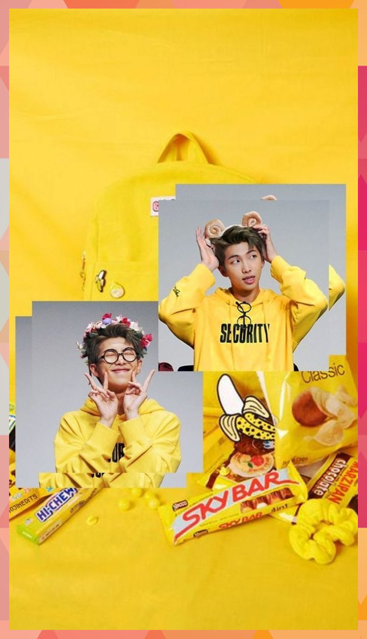 KIM NAMJOON YELLOW AESTHETIC WALLPAPER   BTS RM YE #aesthetic #bgs #bts #Check #... #aesthetic #bgs #bts #check #Kim #NAMJOON #wallpaper #yellow