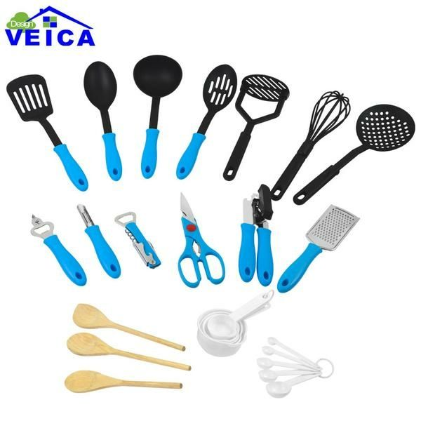 26 Piece Ultimate Kitchen Tool and Utensil Set - Blue – Go Go Kitchen Gadget