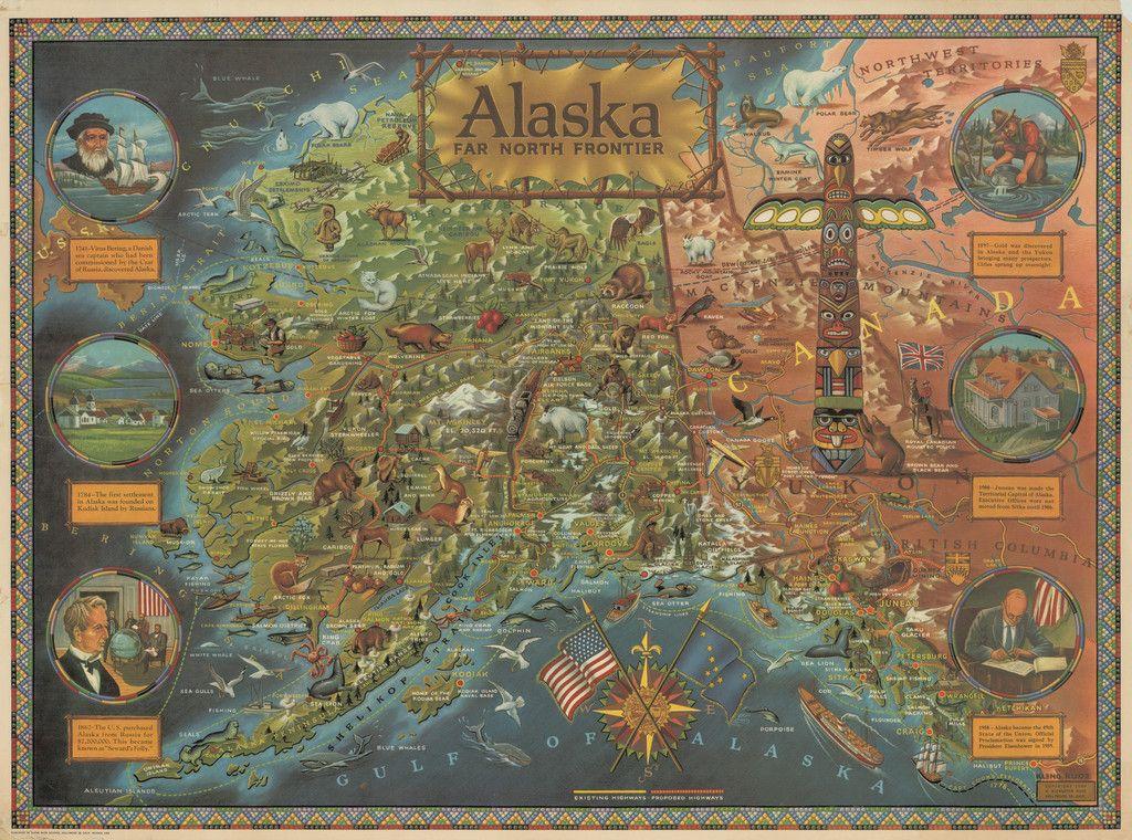 1959 1964 Alaska Far North Frontier